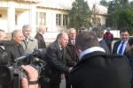 'Imagine Ambasador sua la Spitalul Ghimpati, Giurgiu'